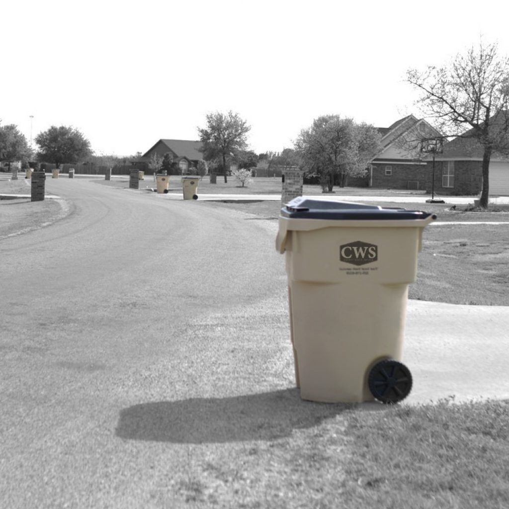 County Waste Service trash can
